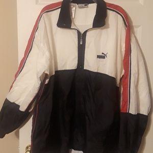 Puma Mens 3/4 zip jacket